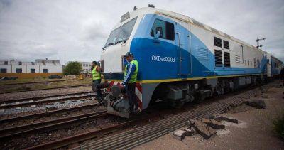 Tren: ferroviarios esperan reducir en media hora el tiempo del viaje
