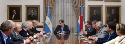 El Gobernador recibió a autoridades de la Unión Industrial