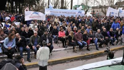 Jornada de lucha y oración de los trabajadores del Astillero en Ensenada