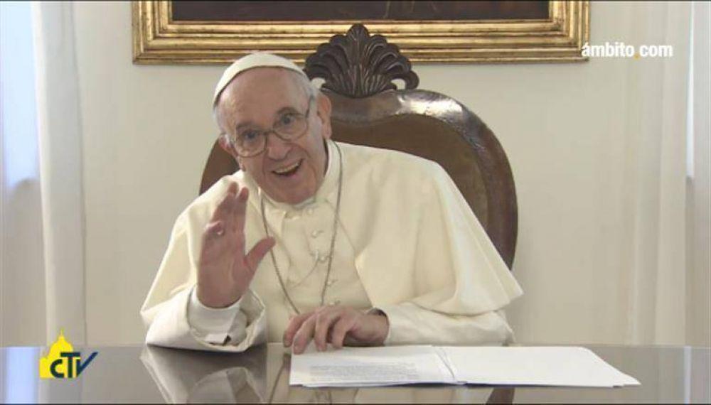Antes de su visita, el Papa saludó a Colombia por lograr