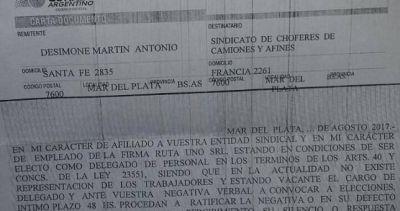 Denuncian persecución a delegados opositores en Mar del Plata