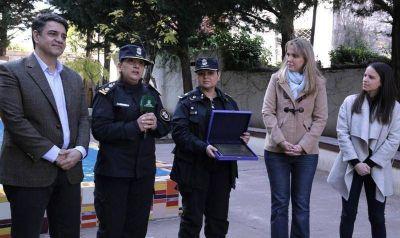 Jorge Macri, Gladys González y Manuel Mosca, celebraron el 10ª aniversario de la Comisaría de la Mujer