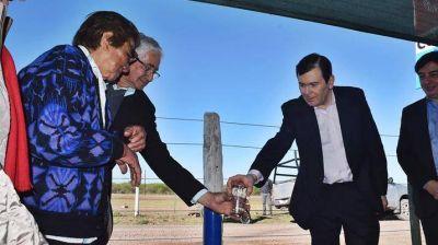 El gobierno inauguró obras en la localidad de San Benito