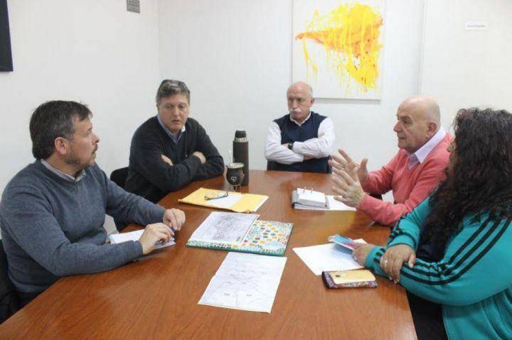 Marcos Gutiérrez se reunió con los Defensores del Pueblo para discutir los circuitos electorales