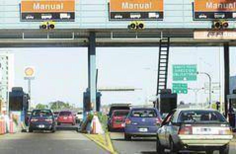 Habrá aumentos de hasta 25% en los peajes de las autopistas porteñas