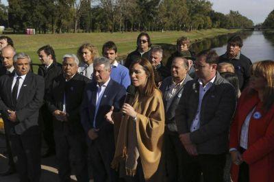 Contra las inundaciones: la Provincia pone en marcha la etapa 4 del Plan Maestro del Salado