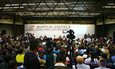 Suspendieron el debate de candidatos a Gobernador por cruces de militantes