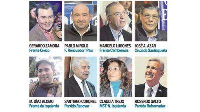 Mirolo y Lugones confirman candidaturas a gobernador para enfrentar a Zamora-Neder