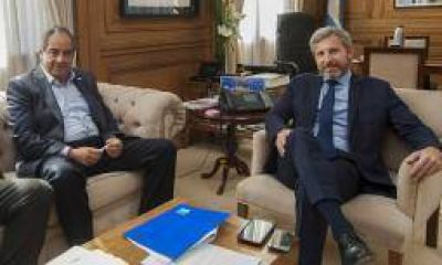 Julio Martínez recorrió los despachos de Casa Rosada