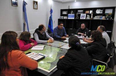 Avanzan las obras comprometidas en el barrio Perito Moreno