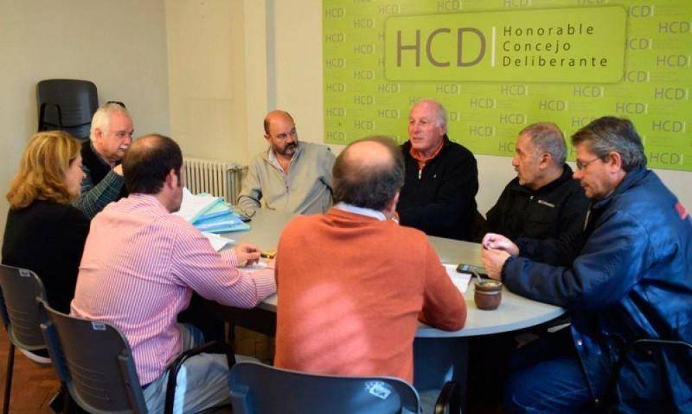 Concejo Deliberante: reunión en Infraestructura por el Monumento al Trabajo