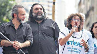 Contundente triunfo de Sonia Alesso y Roberto Baradel en las elecciones de Ctera