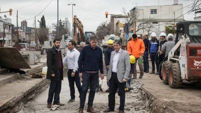 Avanzan las obras del desagüe Mariano Comas