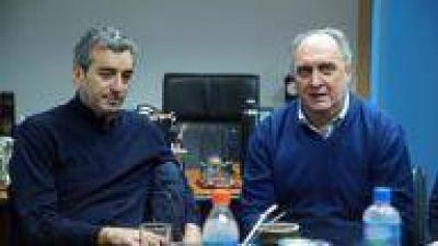 Randazzo se reunió con los candidatos de CUMPLIR en La Plata