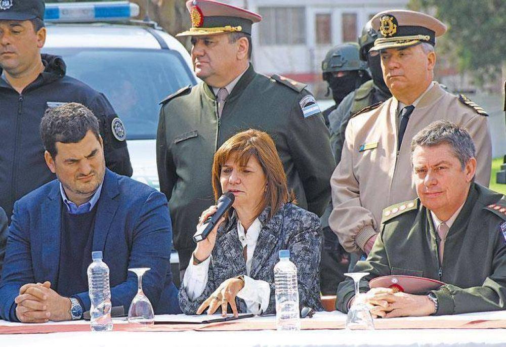 A raíz del caso Maldonado, se profundizan las internas en el área de Seguridad
