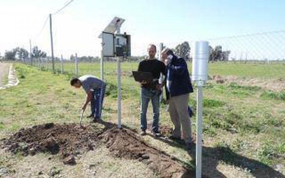 Inundaciones: General Villegas y Junín incorporaron un sistema de monitoreo de prevención climática
