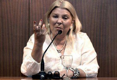 """Elisa Carrió denunció una """"operación"""" del kirchnerismo y el narcotráfico para voltear a Patricia Bullrich"""