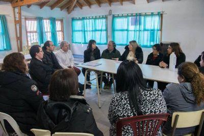 La Gobernadora anunció obras de agua, cloacas y energía para los barrios altos de Ushuaia