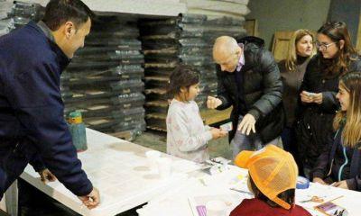 Inundaciones: el intendente Ducoté supervisó el operativo de asistencia