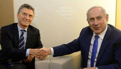 El primer ministro de Israel visita el país y se reúne con el presidente Macri