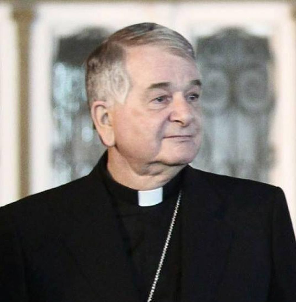 Mons. Tscherrig, nuncio apostólico en Italia