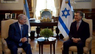 Macri con el primer ministro de Israel: vínculos comerciales y lucha conjunta contra el terrorismo