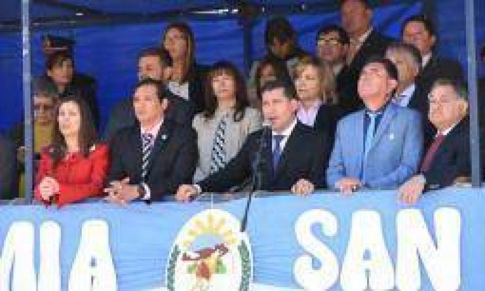Casas pidió acompañar al PJ en las urnas el 22 de octubre