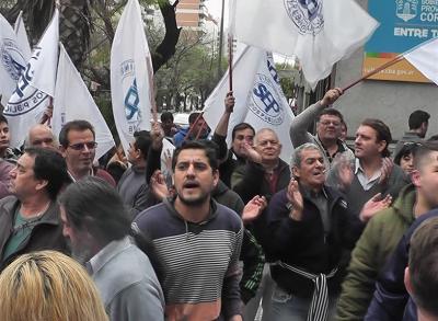 El SEP protestó en la Agencia Córdoba Cultura
