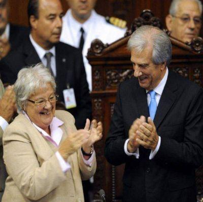 Luego del escándalo, Lucía Topolansky asumirá la vicepresidencia de Uruguay
