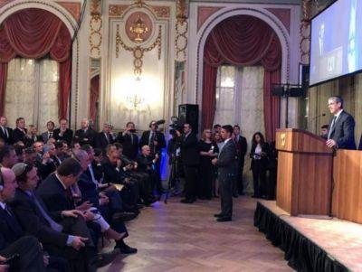 Discurso del presidente de la AMIA por la visita de Netanyahu