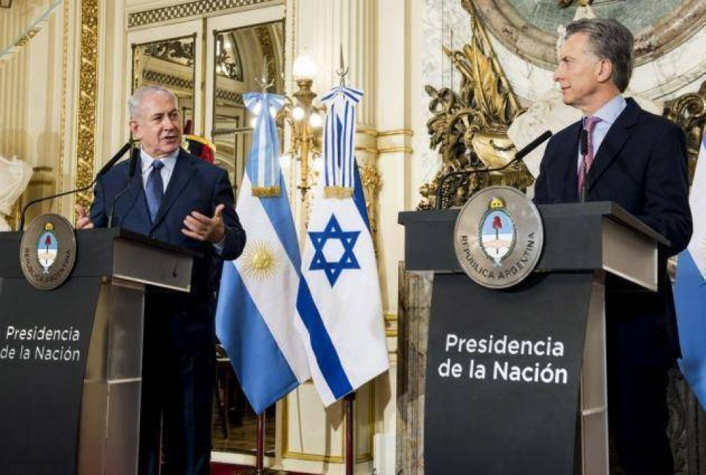 El presidente Macri le entregó a Netanyahu archivos sobre el Holocausto