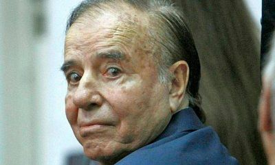La CGT riojana apoyará a Carlos Menem en Octubre