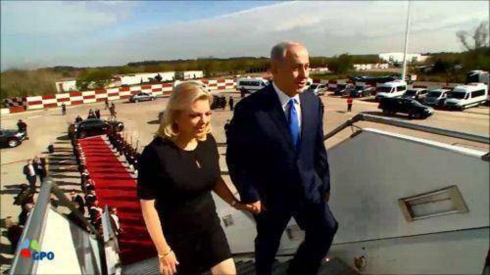 """Finalizó la """"visita histórica"""" de Netanyahu a la Argentina"""
