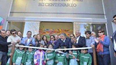 Lucía Corpacci inauguró la Casa del Bicentenario en Las Juntas