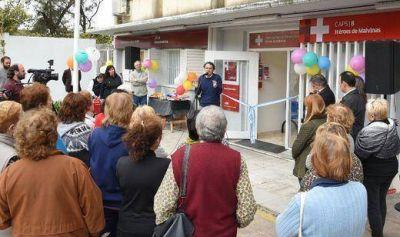 Katopodis inauguró las obras de ampliación del Centro de Salud Nº 8 de San Andrés