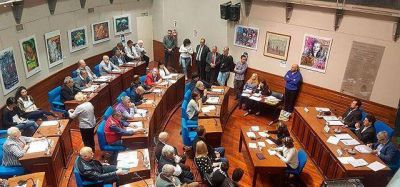 Debate sobre los fondos que recibe Avellaneda fue el eje de la sesión