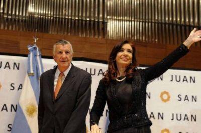 Gioja pidió el voto para CFK en las legislativas de octubre