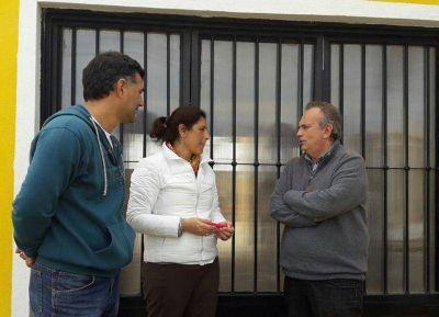 El diputado Vignali visitó Ramallo en apoyo de los candidatos de Cambiemos