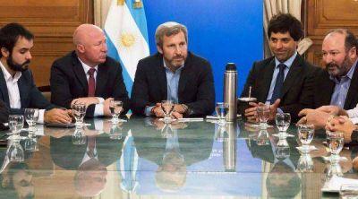 Frigerio se reunió con Mac Allister y Maquieyra