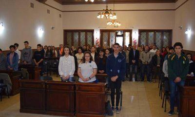 El Concejo Deliberante Estudiantil sesionó por primera vez con temas como nocturnidad y salud pública
