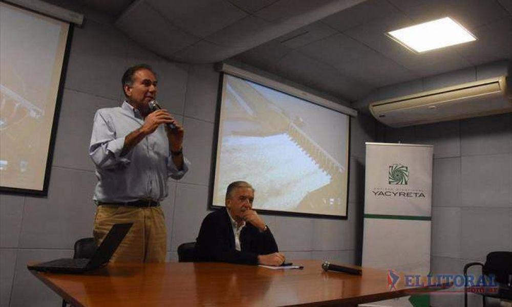Yacyretá: tiene fecha la licitación para instalar tres turbinas en el brazo Aña Cuá