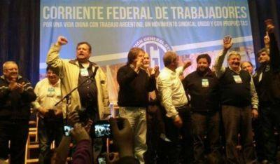 La Corriente Federal irá a la CGT a pedir un plan de lucha con paro general