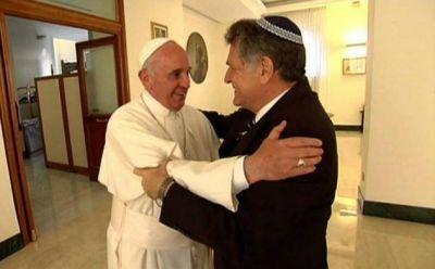 """El papa Francisco deseó """"un feliz año nuevo judío"""" por Rosh Hashaná"""