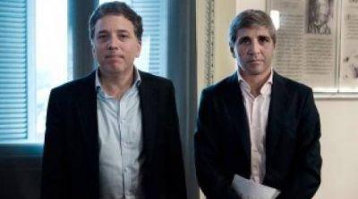 Dujovne y Caputo brindarán precisiones sobre el Presupuesto 2018
