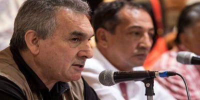 Acompañado por Pablo Moyano, Schmid también llamó a votar por CFK