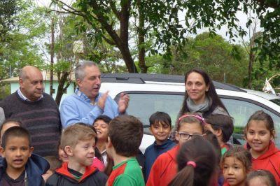"""Passalacqua entregó el premio mayor del primer """"Deporbono"""", auspiciado por el Ministerio de Deportes y el IPLyC"""