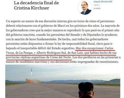 Según La Nación, Verna