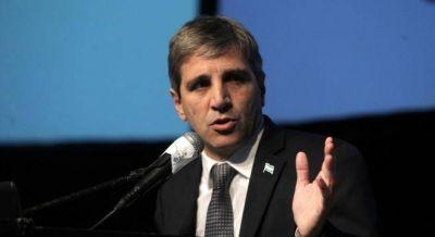 La oposición espera a Caputo con un debate áspero sobre la deuda