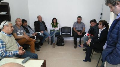 La CGT Zona Atlántica se reunión con la senadora Magdalena Odarda
