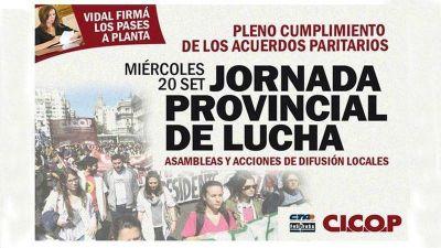 Jornada de protesta de médicos en el Hospital San Felipe